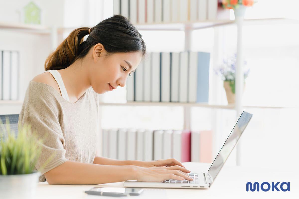 online learning - bekerja di rumah - work from home - blogging - ide bisnis sampingan 2020